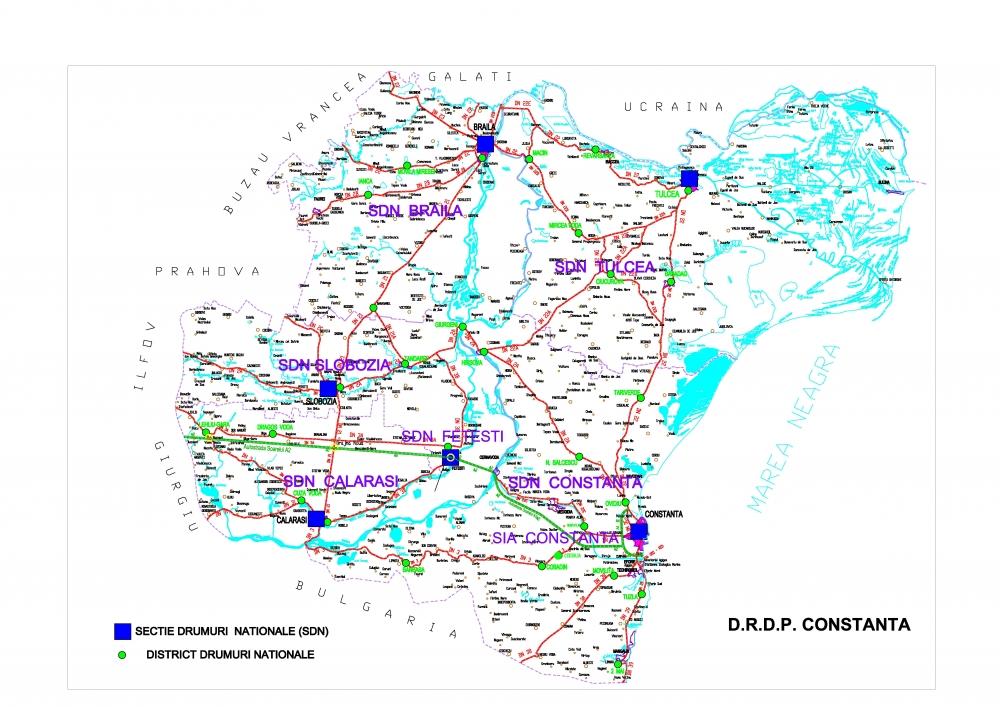 Harta DRDP Constanta