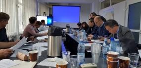 4 dec 2018 - D.R.D.P. Constanța - Întâlnire de management în cadrul implementării obiectivului Proiectare și Execuție Pod suspendat peste Dunăre în zona Brăila, organizată conform Clauzei 3.6. din contract