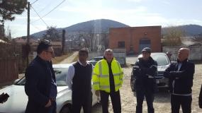08.03.2019 - Intâlnire de lucru privind acordarea posesiei șantierului către Antreprenor - obiectiv  - Refacere sistem rutier DN22H km 0+000 - 1+590, Varianta Ocolitoare Oraș Babadag